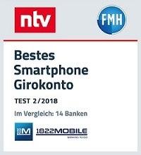1822 Mobile Girokonto nur per Smartphone