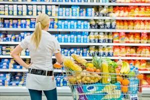 bargeld im Supermarkt bei Rewe, Penny, Netto