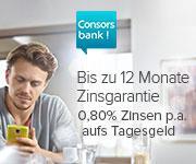 minderjährigen tagesgeld bei der Consorsbank