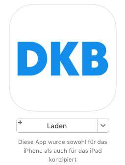 Installation DKB Banking App