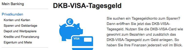 DKB VISA-Tagesgeld
