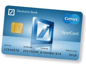 Deutsche Bank Sparcard bzw. Sparkonto