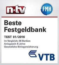 bestes Festgeld VTB Young