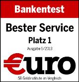 1822direkt - Testsieger bei Euro