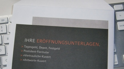 Unterlagen zur Eröffnung