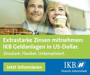 ikb Festgeld in US Dollar